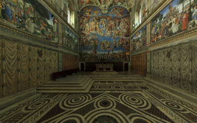 La capilla Sistina, Impresionante, digna de ver...