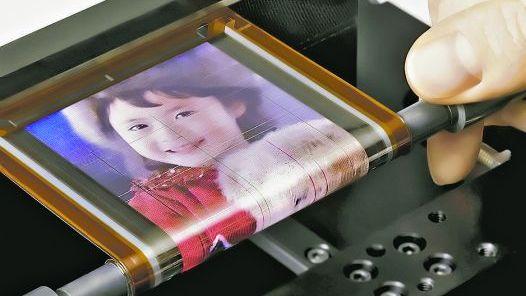 Asombrosa. la pantalla se logro con una combinacion de la tecnologia oled y transistores especiales.