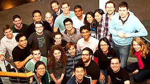 Salman Khan y su equipo