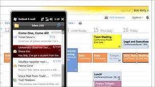 Office 365 de pantalla, Microsoft
